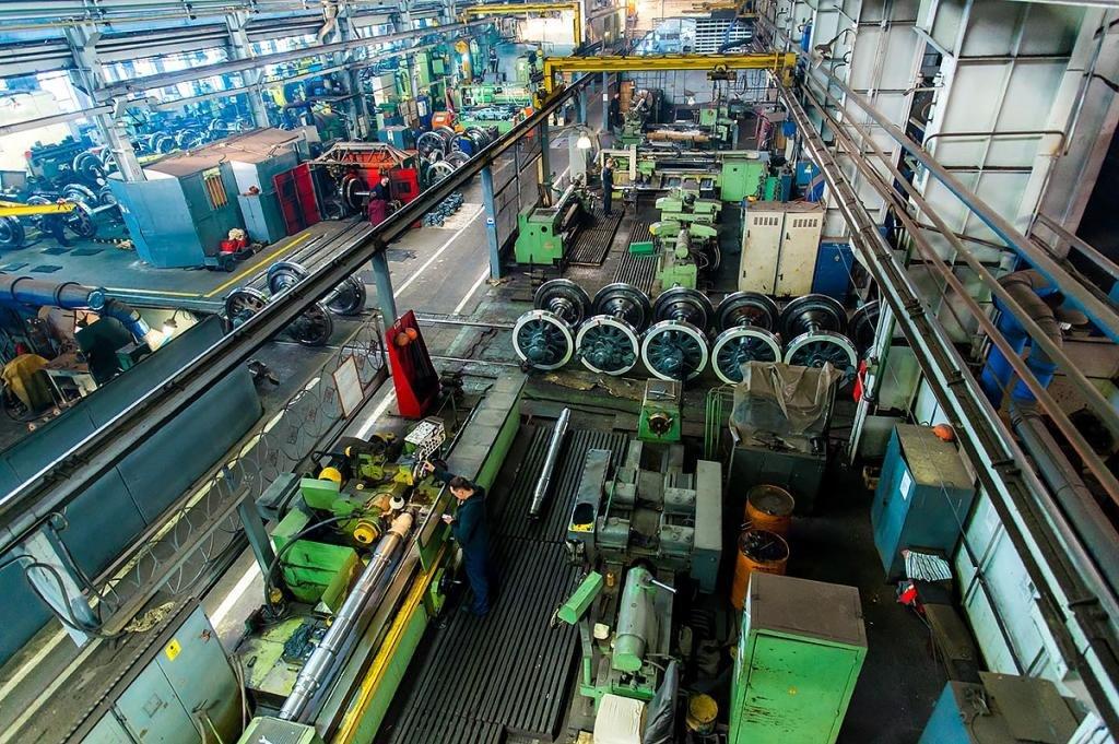 Цех челябинского электровозоремонтного завода