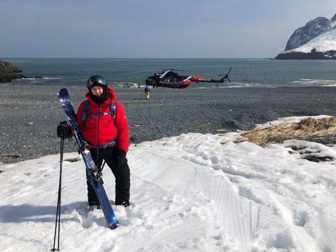 На лыжах с вертолета: Владимир Погребенко об экстриме на Камчатке
