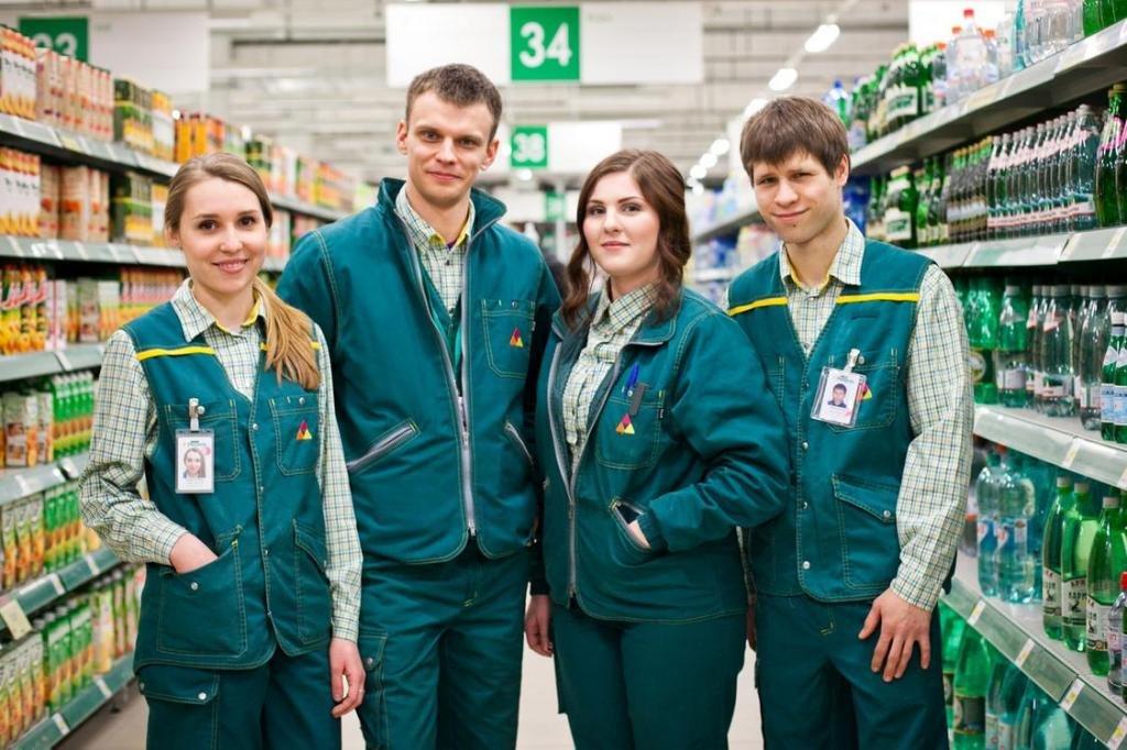 Сотрудники магазина