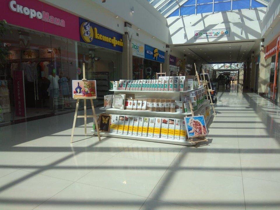 Товары в торговом центре