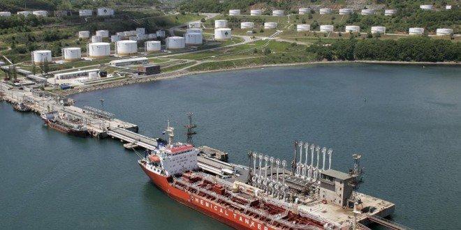Порт Козьмино в Находке