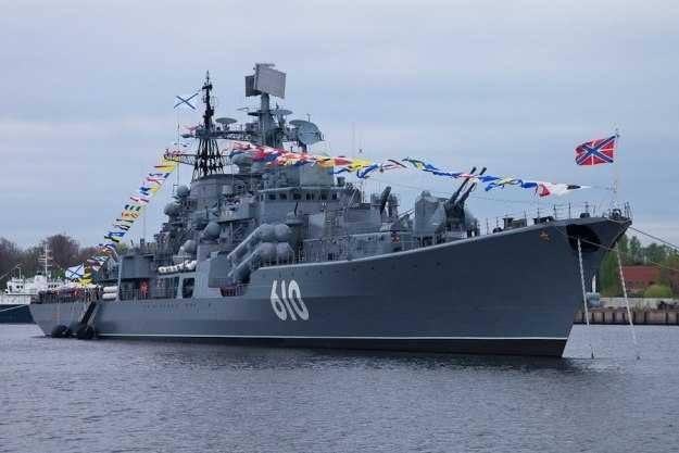 Эсминец «Настойчивый» балтийского флота России