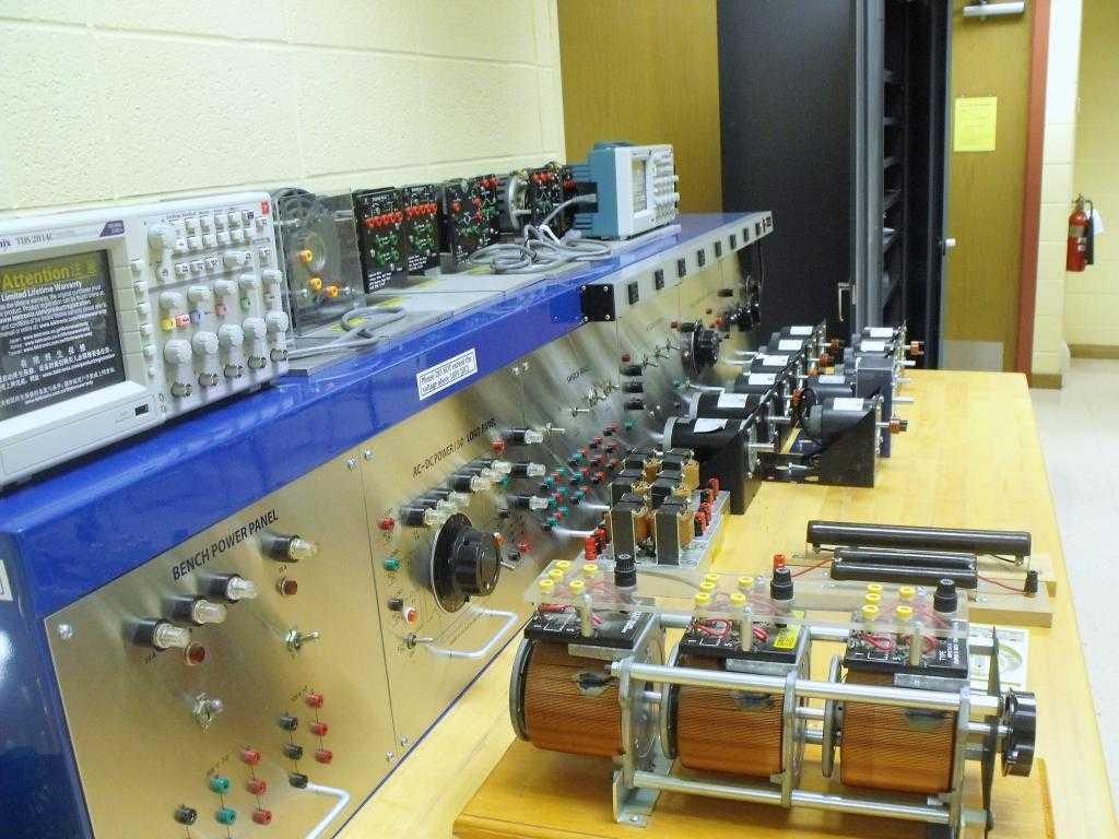 Принцип работы машины переменного тока
