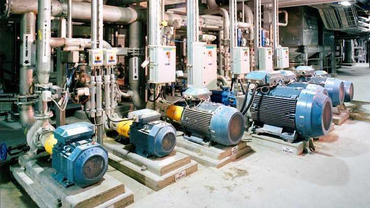 Промышленные машины переменного тока